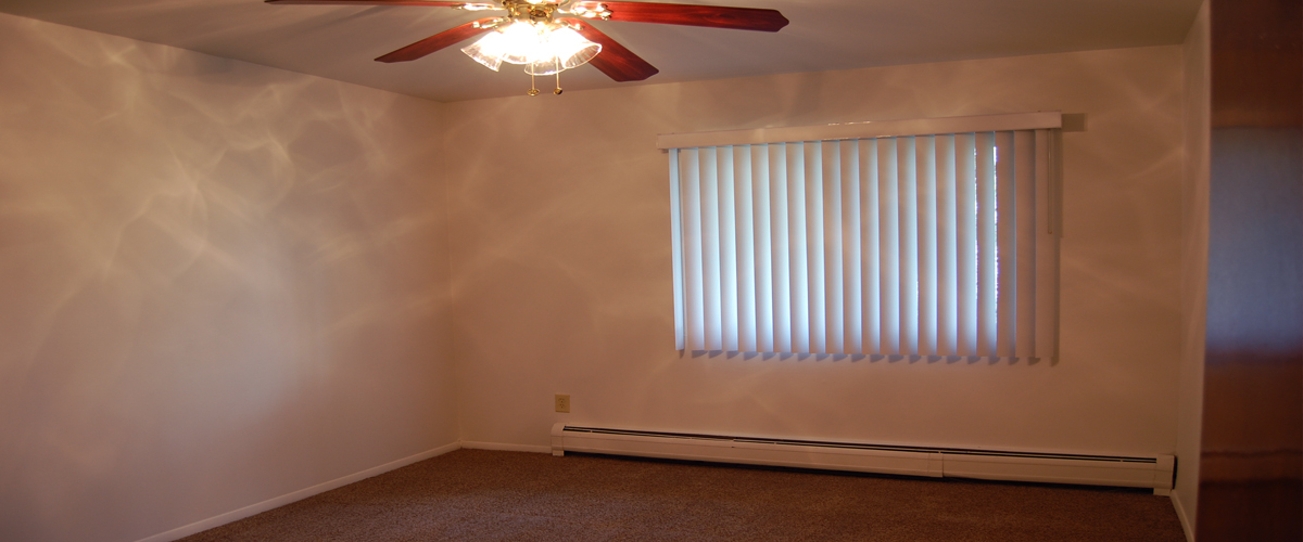 Vertical Blinds - Spacious Floor Plans - Air Conditioning